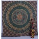 Indian Bird Mandala Bedspread Bohemian Hippie Throw Decor Wall Hanging Tapestry