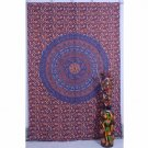 Indian Twin Mandala Boho Hippe Bedspread Wall Hanging Tapestry Decor Table cover