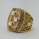 1978 Pittsburgh Steelers XIII Super bowl championship ring size 11 Back Solid
