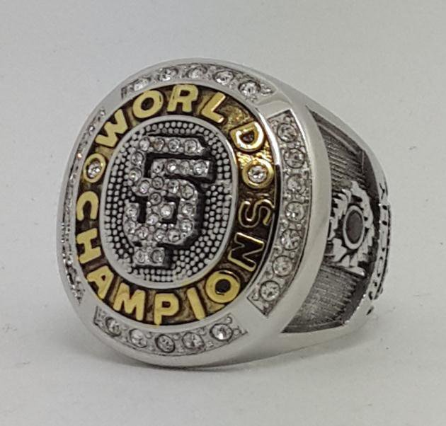 San Francisco Giants 2010 world series championship ring baseball size 9-13 Back Solid
