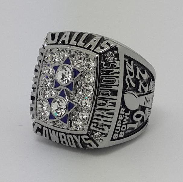 1977 Dallas Cowboys XII Super bowl championship ring STAUBACH size 11 Back Solid