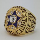 1971 Dallas Cowboys VI Super bowl championship ring STAUBACH size 11 Back Solid
