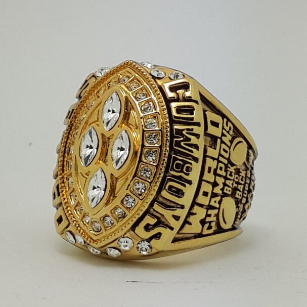1993 Dallas Cowboys XXVIII Super bowl championship ring TORNTON size 11 Back Solid