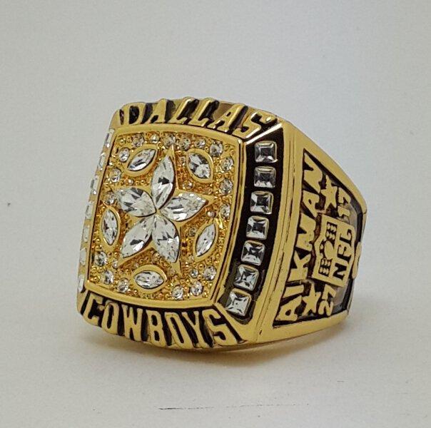 1995 Dallas Cowboys XXX Super bowl championship ring AIKMAN size 11 Back Solid
