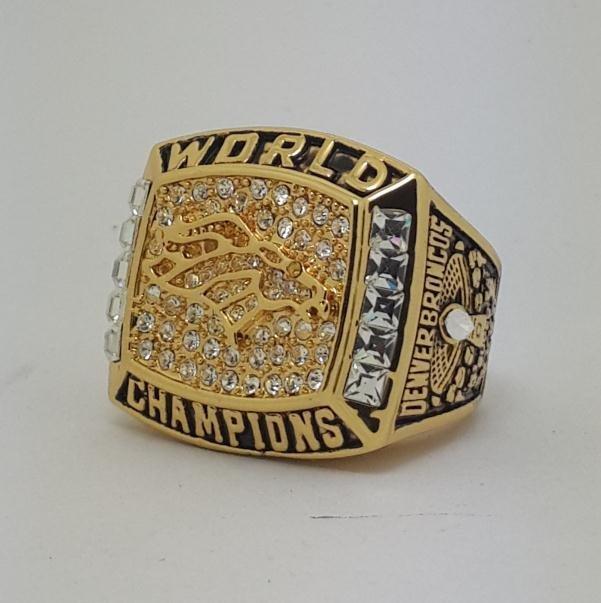 1997 Denver Broncos XXXII Super bowl championship ring ELWAY size 11