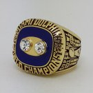 1973 Miami Dolphins VIII Super bowl championship ring CSONKA size 11 Back Solid