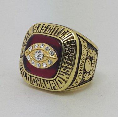1969 Kansas City Chiefs IV Super bowl championship ring MCVEA size 11