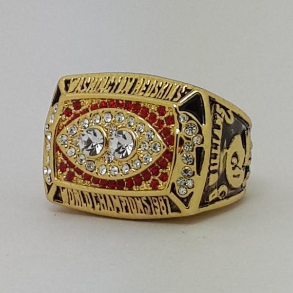 1987 Washington Redskins XXII Super bowl championship ring size 11