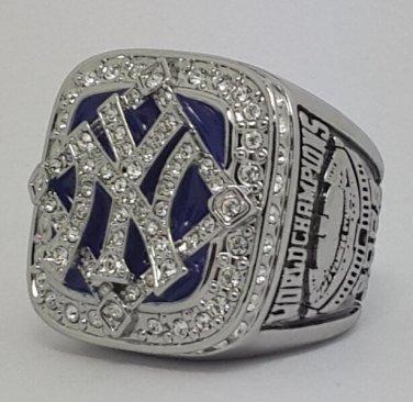 New York Yankees 2009 world series championship ring baseball size 11 Back Solid