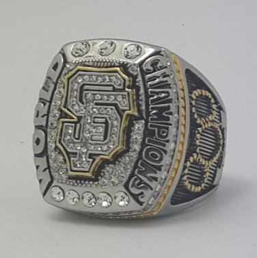 San Francisco Giants 2014 world series championship ring BUMGARNER baseball MLB size 11 Back Solid
