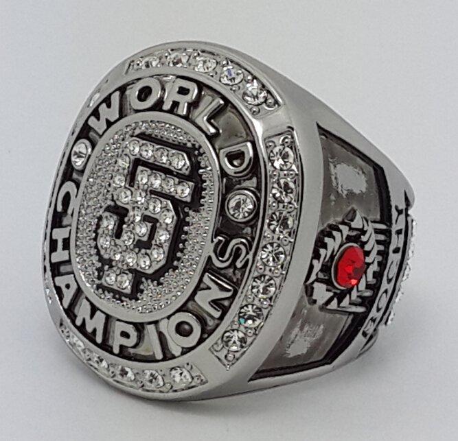 San Francisco Giants 2010 world series championship ring BOCHY baseball MLB size 11 Back Solid
