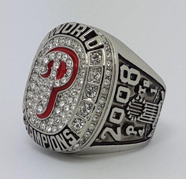 2008 Philadelphia Phillies world series championship ring HOWARD baseball MLB size 11 Back Solid