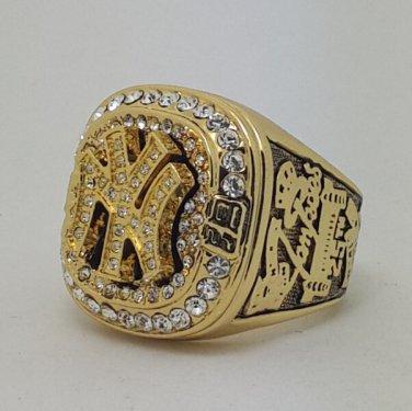New York Yankees 1999 world series championship ring JETER baseball size 11 Back Solid