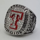 2010 Texas Rangers AL American League world series championship ring baseball size 11 Back Solid