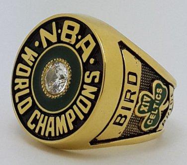 Boston Celtics 1981 Basketball championship ring BIRD NBA size 9-13 Nice Gift