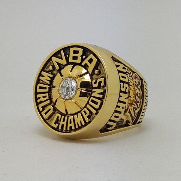 Los Angeles Lakers 1980 Basketball JOHNSON Dynasty championship ring NBA size 9-13 Nice Gift