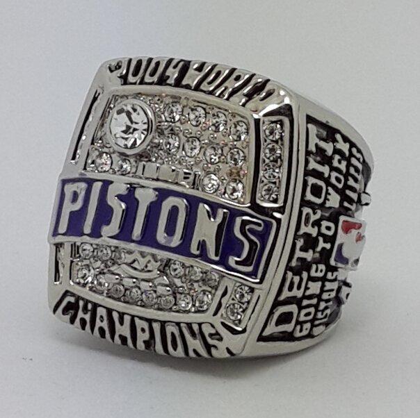 Detroit Pistons 2004 BILLUPS Basketball championship ring NBA size 10 Nice Gift