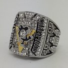 Pittsburgh Penguins 2009 Stanley Cup championship ring CROSBY size 11 US Back Solid