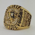 Pittsburgh Penguins 1991 Stanley Cup championship ring LEMIEUX size 9-14 US Back Solid