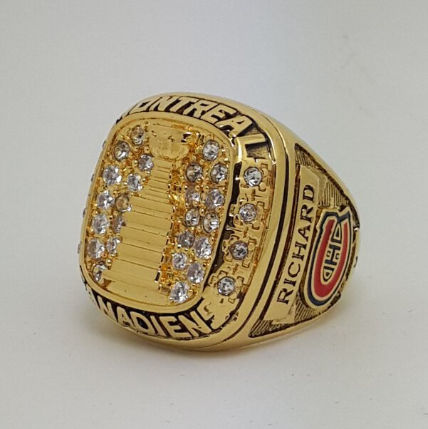 Montreal Canadiens 1960 Stanley Cup championship ring RICHARD size 9-13 US