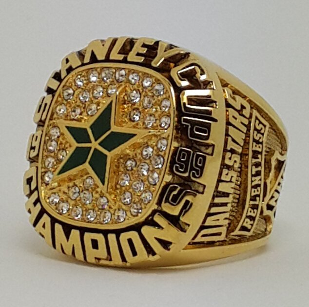 Dallas Stars 1999 Stanley Cup championship ring size 9-13 US Back Solid