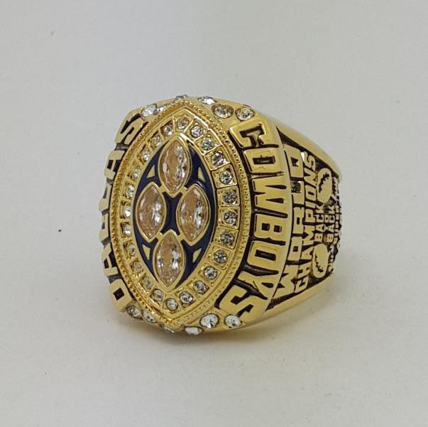 High Quality 1993 Dallas Cowboys XXVIII Super bowl championship ring AIKMAN size 9-14 Back Solid