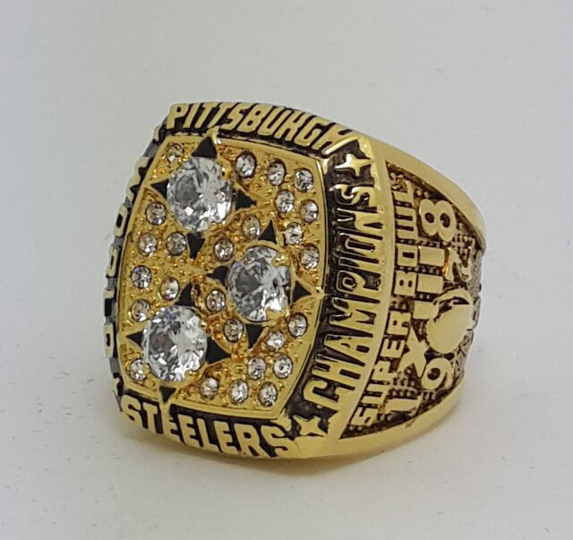High Quality 1978 Pittsburgh Steelers XIII Super bowl championship ring BRADSHAW size 9-14 Solid