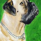 ACEO Mastiff Dog