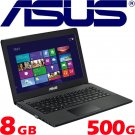 ASUS Intel PENTIUM Core 14.1 8GB 500GB Windows 8 Light Portable Laptop