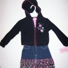 HOODED JACKET & FLORAL DENIM SKORT SET (3 PC) 3T, Nannette
