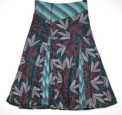 *FAT FACE* PRETTY COTTON  GODET SKIRT SIZE 8/10