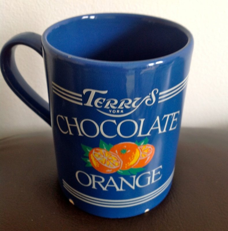 VERY RARE TERRYS CHOCOLATE ORANGE MUG