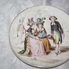 CREIL ET MONTEREAU LA MODE DEPUIS CENT ANS - LOUISXVI 1789 PLATE/ASSIETTE