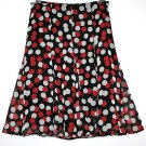 *MARKS & SPENCER* FLOATY CREPE GODET SKIRT SIZE 14