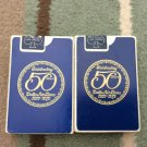 PAIR DELTA AIRLINES PLAYING CARDS CELEBRATING 50 YEARS 1929- 1979 SEALED!