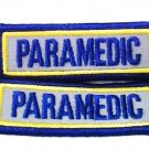 PARAMEDIC Reflective Patch Set EMT EMS  3 x 1 Embroidered Shoulder Patches New