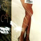 Fishnet Black Thigh High Hose Stockings Rene Rofe Sexy Costume One Size New