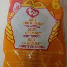 McDonalds Ty Teenie Beanie Baby Iggy the Iguana Happy Meal Plush Toys Packaged