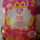 McDonalds Ty Teenie Beanie Baby Slither the Snake Happy Meal Plush Toys Packaged