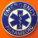 Emergency Paramedic Collar Pin Device Silver Blue Star of Life Uniform 63S2 New