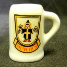 Beer Ale Mug Stein Munchen Germany Collectible Miniature Mini White Bar Brew