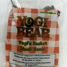 Collectible Wendys Kids Meal Yogi Bear Basket Stack Game Set Toy Unisex New
