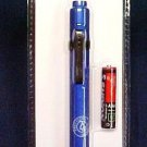 Blue Pen Light LED Illumination White Light Battery Push Button Activated New