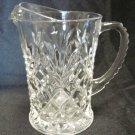 EAPC Pineapple Pitcher Early American Prescut Clear Glass Creamer Vintage