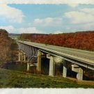 Vintage Uncirculated Interstate 80 Clarion River Bridge Souvenir Postcard Used
