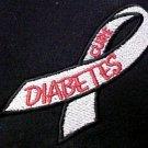Diabetes November Awareness Ribbon Black Hoodie Sweatshirt 5X Unisex New