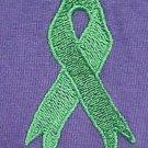 Lymphoma Kidney Cancer Green Ribbon Purple Crewneck Sweatshirt M Unisex New