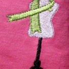 Hope Courage Love Butterfly Pink SS T Shirt Ovarian Cancer Medium Unisex New