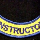 VA Virginia INSTRUCTOR Rocker Patch Set of 2 Official EMT Embroidered Patches