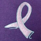 Walk Ribbon Cancer Awareness Purple Sweatshirt Hoodie Large Unisex New